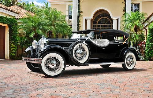 1929 Stutz Series M Four-Passenger Dual-Cowl Speedster Coachwork by LeBaron