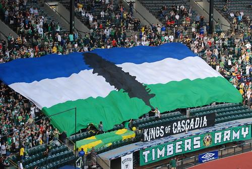 Cascadia Flag | Portland Timbers