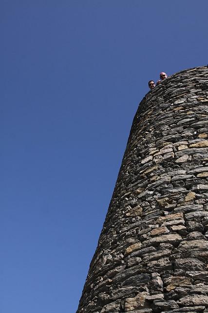 Cinque Terre - Iggy and Berti up above in Vernazza