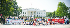 65 Protestors Rally Before the White House Against Keystone XL and Tar Sands