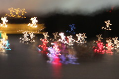 Only cropped. No photoshop. I think my subconscious wants to go to Disneyland  :) (zJMac) Tags: christmas camera light ontario canada reflection rock night canon river dark painting boats lights movement kiss long exposure candy harbour ottawa smooth lac casino international gatineau jelly synchronicity shakey t3i x5 600d intentionalcameramovement lemey zjmac