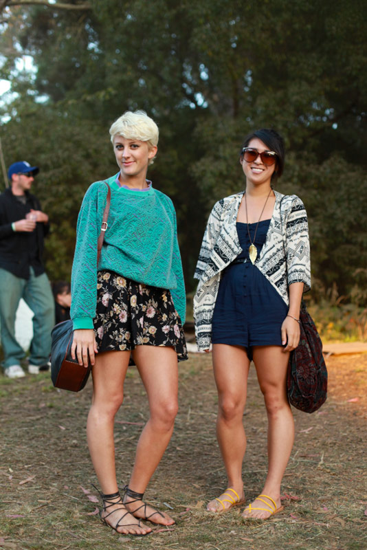 ohboy - san francisco street fashion style outside lands