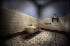 BatH areA  :: (andre govia.) Tags: house building abandoned pool swimming buildings insane woods decay room best andre explore mad sanatorium asylum derelict ue urbex asylums criminally sanatoriums govia bathabandoned