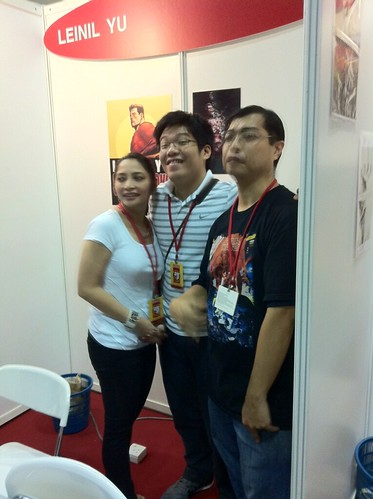 leinil, wife and richard STGCC ROCKETRAYGUN kelvin chan