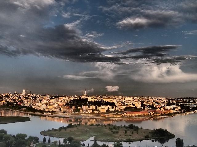 Eyup Merkez的景觀--濾鏡版