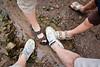Before.. (gillis95) Tags: canada mud newbrunswick bayoffundy lowtide mudflats dirtyshoes rockformations hopewellrocks flowerpotrocks cleanshoes mudshoes