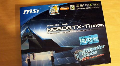 MSI GTX 560 Ti TWIN FROZR III / Spartinta N560GTX Ti