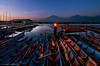 Blue Dawn - Gone Fishing [1] (DanielKHC) Tags: blue light lake lamp digital sunrise indonesia boats dawn 1 java fisherman nikon central explore lantern yogyakarta dri rawa pening blending d300 danielcheong danielkhc tokina1116mmf28