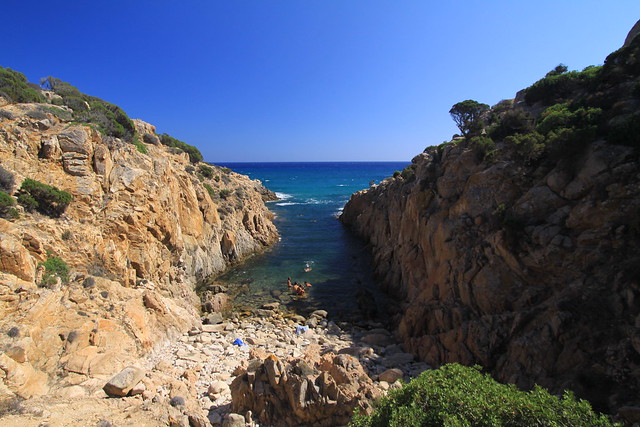 Stunning, little cove near Cala Cipolla.