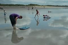 Self Reflect (Larking About) Tags: reflection beach larkingabout spnp streetphotographynowproject instruction47