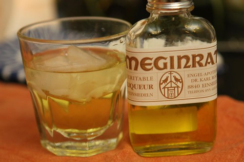 Meginrat Liqueur from Einseideln (on the rocks)