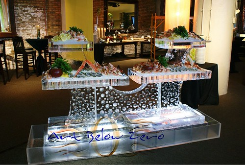 4 trays Seafood Table