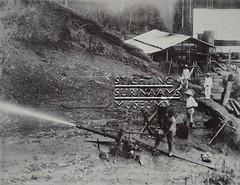 Aanleg spoorbaan Maäboheuvel