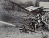 Aanleg spoorbaan Maäboheuvel (Stichting Surinaams Museum) Tags: suriname spuiten spoorbaan aanleg afspuiten maäboheuvel persleidingen