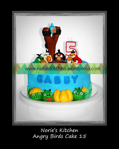 Norie's Kitchen - Angry Birds Cake 15 by Norie's Kitchen