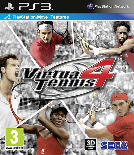 Virtua Tennis 4 - PS3 UK Box Art