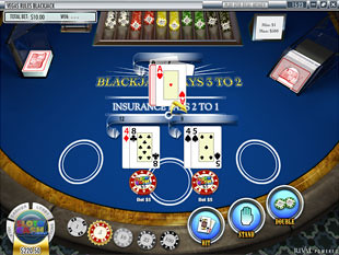 Blackjack Rival Win