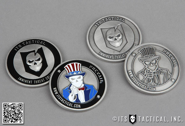 ITS Tactical Challenge Coins 01
