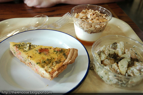 The National Gallery Cafe - Salmon Quiche