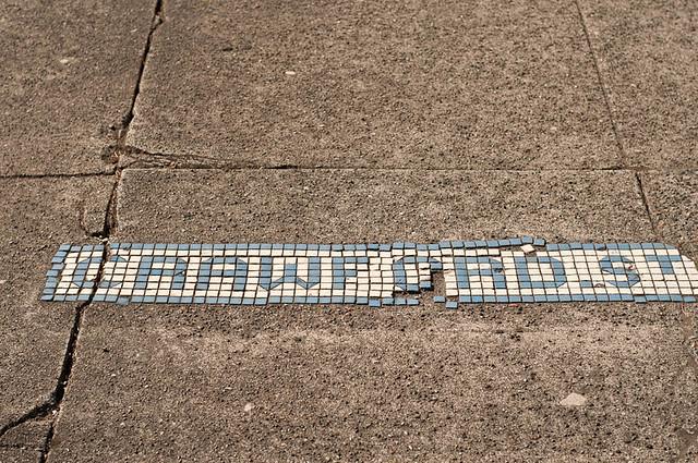 Old Ballard Street Signs