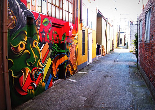 08/29/11 Alley Art by roswellsgirl