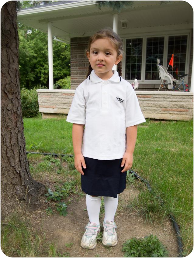 Myriam - Premier jour d'école