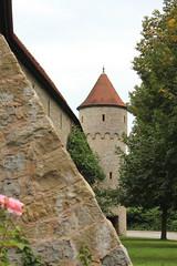 Stadtbefestigung (gripspix (OFF)) Tags: germany deutschland town fortification stadtmauer badenwrttemberg jagst countrytown mckmhl befestigung jagsttal beiheilbronn 20110818