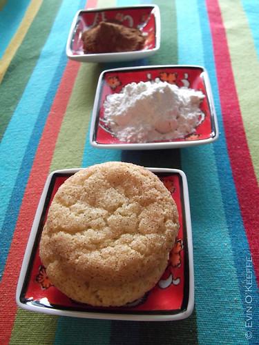 Cinnamon, Flour, Snickerdoodle Cookies