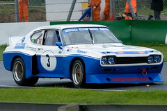 Vince Woodman's Ford Capri V6 at the 2011 CSCC Modsport and Super Saloon Revival Challenge, Mallory Park (festivalos) Tags: park classic cars ford sports car club capri vince august super racing motor saloon challenge 29th mallory v6 woodman revival cscc 2011 modsport