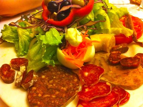 Tavèrnoles | Restaurant Fussimanya | Ensalada Fussimanya