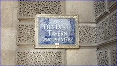 Photo of The Devil Tavern blue plaque