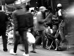 beggar (arwin17) Tags: city people urban indonesia market photos traditional porto bandung westjava pasar interaction arwin sunda pasarbaru jawabarat otista arwinwaworuntu arwin17