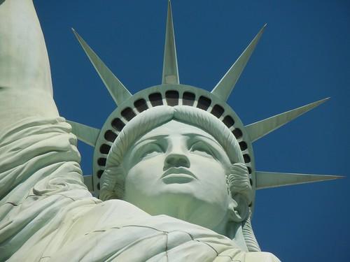 NY NY Hotel statue of liberty