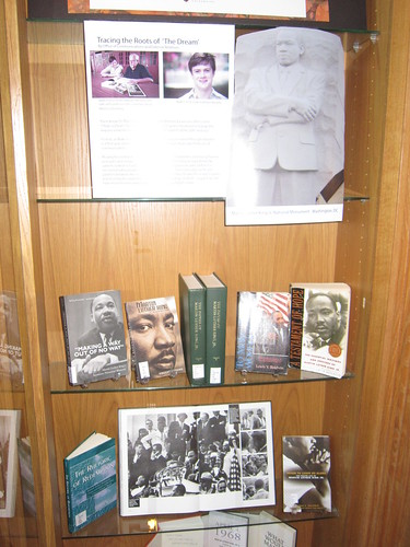 "King ""I have a dream"" speech exhibit"
