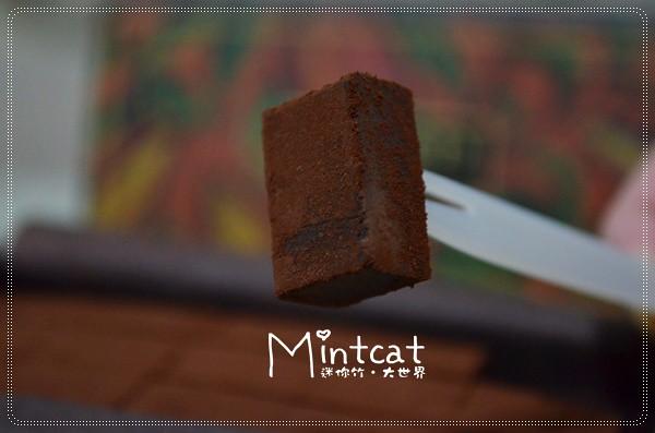 台中的精品甜食~禾雅堂生巧克力禮盒 72%