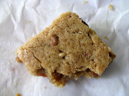 Bacon Butterscotch Blondies A Shiny Life