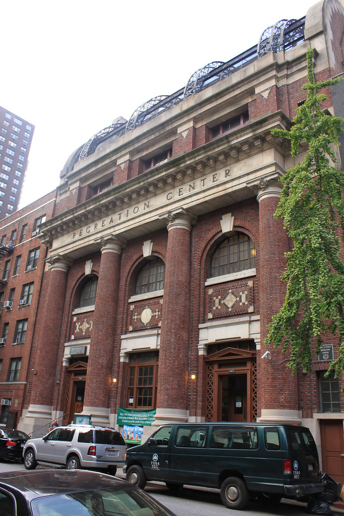 Free Public Bath Of The City Of New York
