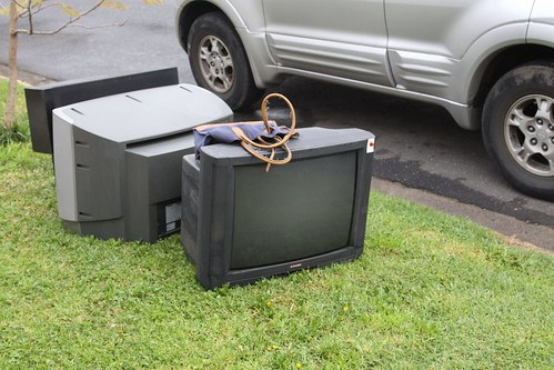 Spotted: CRT televisions number 1 and 2