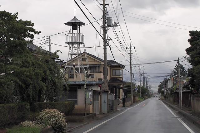 上新田の火の見櫓(鶴ヶ島市)