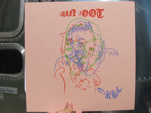 Sun Foot - Songs In the Key of R, B, C LP - Teenage Teardrops/Awesome Vistas
