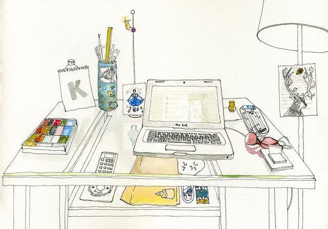 Kimi's Desk
