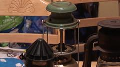 Bialaddin 300x Storm Lantern (Green top) (rockypro1) Tags: light dark lanterns oil oillamps paraffin