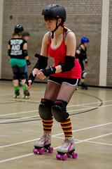 Prepared for Action (ColinParte) Tags: helmet belfast skaters derby belfastrollerderby