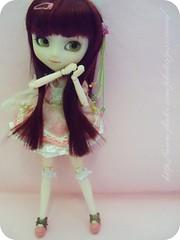 Yuna - Pullip My Melody (x_Jess) Tags: pink cute girl doll magic redhead melody wig chan kawaii cancan pullip mm magical my