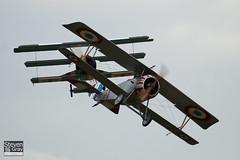 G-BWMJ - PFA 121-12351 - Private - Nieuport 17 Scout Replica - 110710 - Duxford - Steven Gray - IMG_8798