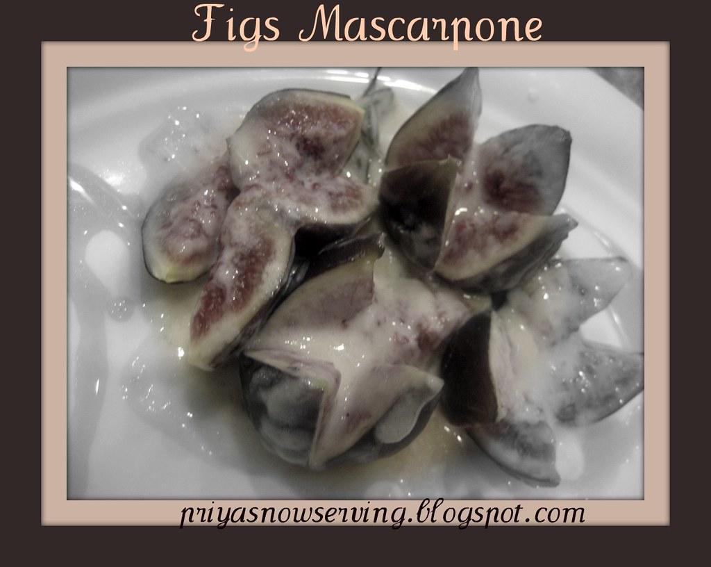 Figs Mascarpone