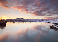 Sommaroy Norway (peterspencer49) Tags: ocean winter sunset sky mountain snow seascape norway clouds sunrise reflections coast movement coastline fjord artic seaview arcticcircle winterview stunningview seascene sommaroy oceanveiw 5dmkll peterspencer stunningseascape