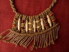 Girocollo Etnico juta e legno (patty macram) Tags: collier macrame collane gioielli immagini girocollo macram macramgioielli macramcollane macrambijoux macramlavori macramaccessori macramgirocolli