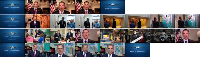 113 weekly video addresses, 2009-2011 (shot montage).crop
