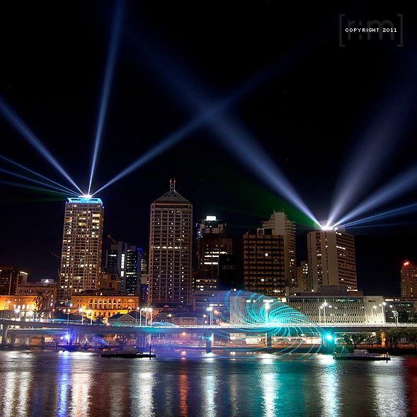 Brisbane Festival 2011 - Santos City of Lights